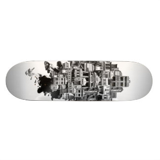 Shared Space: Shop-houses Skate Board