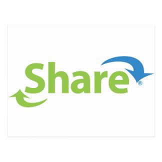 ShareWare Postcard