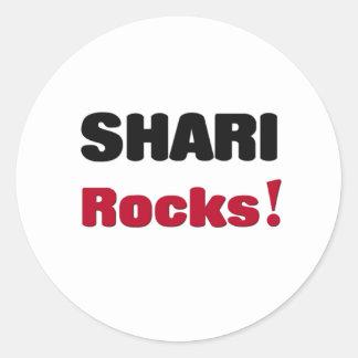 Shari Rocks Stickers