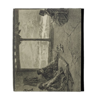 Sharia Lecture at Khosrakh, Dagestan, plate 50 fro iPad Folio Covers