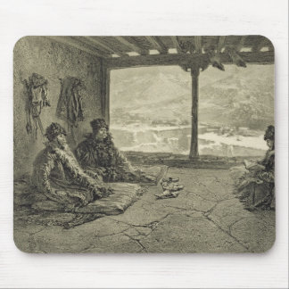 Sharia Lecture at Khosrakh, Dagestan, plate 50 fro Mouse Pad