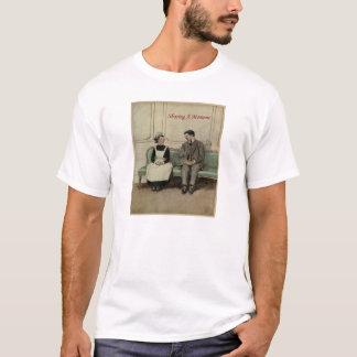 Sharing A Moment - 1900's Vintage Illustration T-Shirt