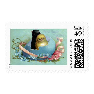 Sharing a Shell Vintage Easter Postage