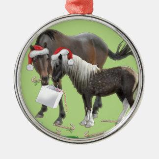 Sharing Christmas Metal Ornament