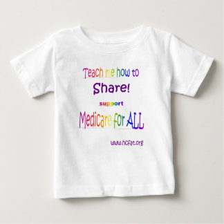 Sharing is Caring Baby T-Shirt