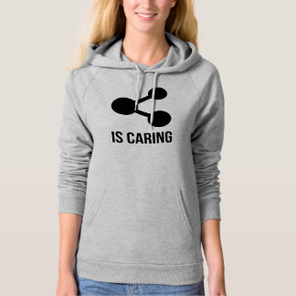 Sharing is Caring Fleece Pullover Hoodie