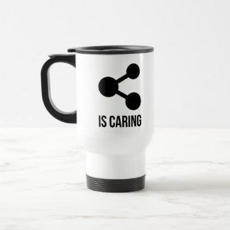 Sharing is Caring Travel/Commuter Mug