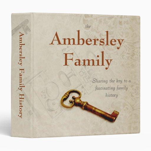Sharing Key Personalized Family History Binder
