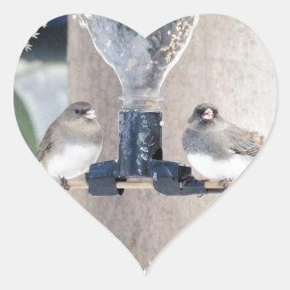 Sharing Heart Sticker