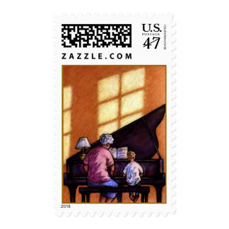 Sharing The Love Of Music Teacher & Student STAMPS
