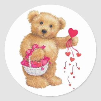 Sharing the Love Classic Round Sticker