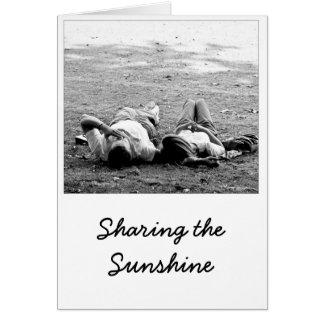 Sharing the Sunshine Card