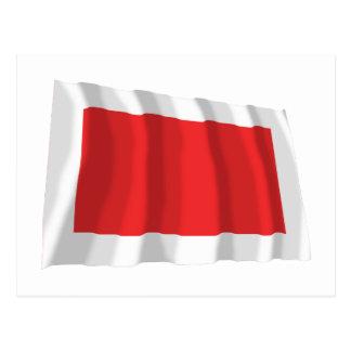 Sharjah Waving Flag Postcard