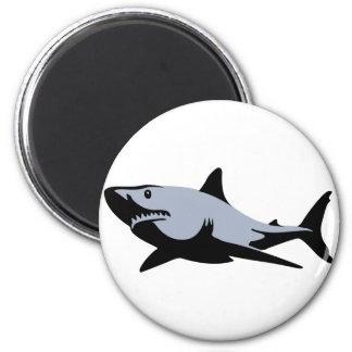 Shark 2 Inch Round Magnet