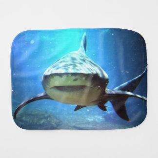 shark-5.jpg burp cloth