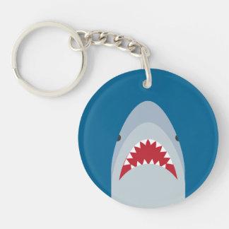 Shark Acrylic Keychain