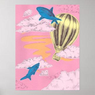 Shark Adventure Poster