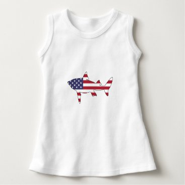 "USA Themed Shark ""American Flag"" Dress"