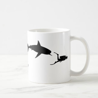 Shark and SCUBA Coffee Mug