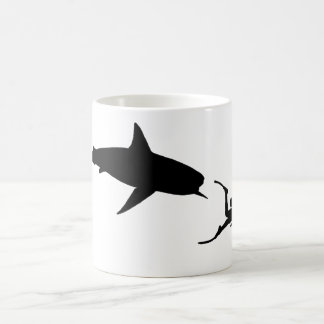 Shark and SCUBA Mug