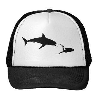 Shark and SCUBA Trucker Hat