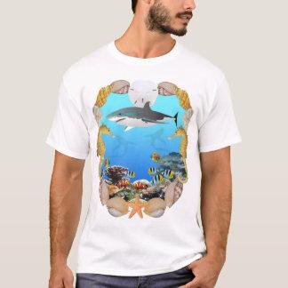Shark and Tropical Fish T-Shirt