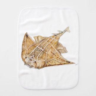 Shark angel, angelote burp cloth