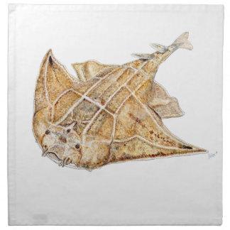 Shark angel, angelote cloth napkin