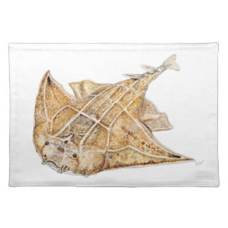 Shark angel, angelote cloth placemat