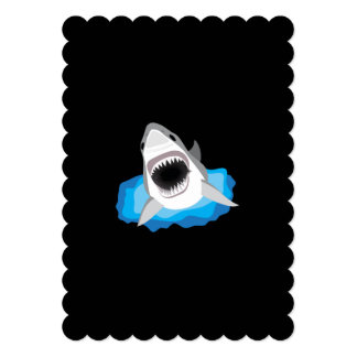 Shark Attack - Add Your Own Funny Caption Card