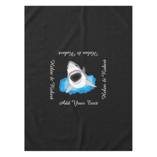 Shark Attack - Add Your Own Funny Caption Tablecloth