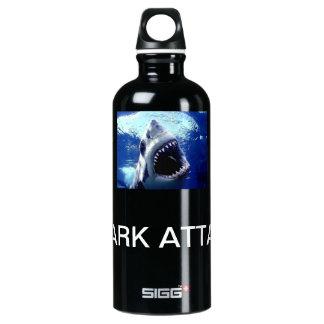 Shark Attack Aluminum Water Bottle