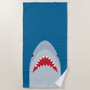 awesome beach towels. Shark Attack Beach Towel Awesome Towels