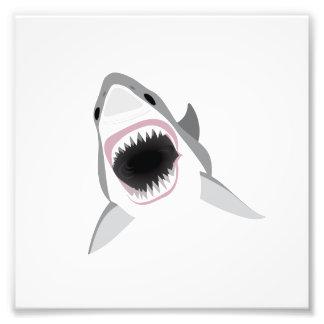 Shark Attack - Bite of the Great White Shark Photo Print