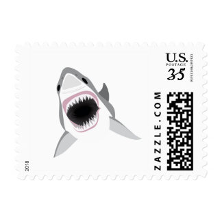 Shark Attack - Bite of the Great White Shark Postage