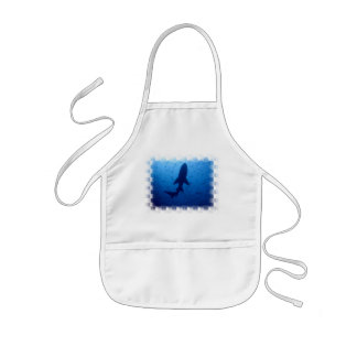 Shark Attack Children's Smock Kids' Apron