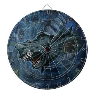 Shark Attack Dart Board