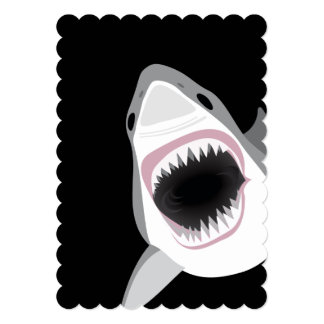 Shark Attack Dive Club Event or Birthday Party Card