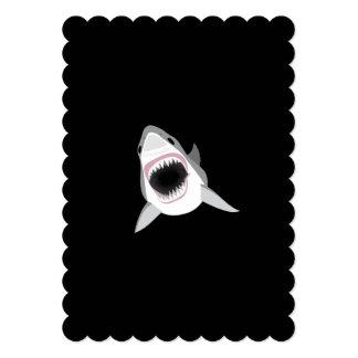 Shark Attack Funny Custom Text Card
