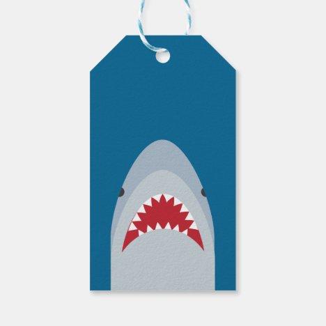 Shark Attack Gift Tag