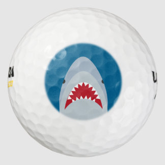 Shark Attack Golf Balls