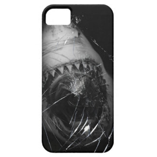 Shark Attack Great White Broken Glass Iphone 5 iPhone SE/5/5s Case