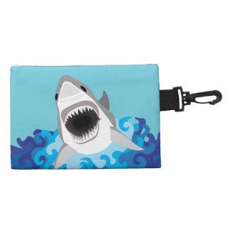 Shark Attack - Great White Shark Accessory Bag
