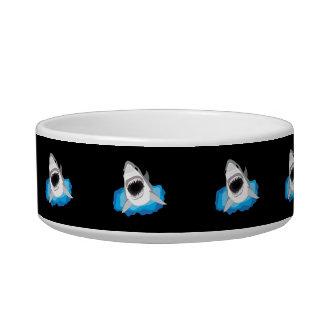 Shark Attack - Great White Shark Pet Water Bowl