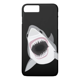Shark Attack - Great White Shark Shows its Bite iPhone 7 Plus Case