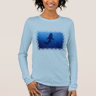 Shark Attack Ladies Long Sleeve T-Shirt