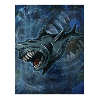 Shark Attack! Customized Letterhead