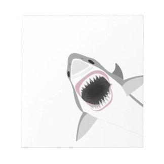 Shark Attack Notepad