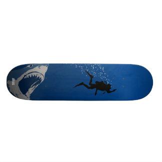 Shark Attack Custom Skateboard