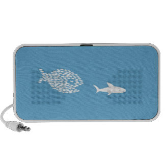 Shark attack speaker